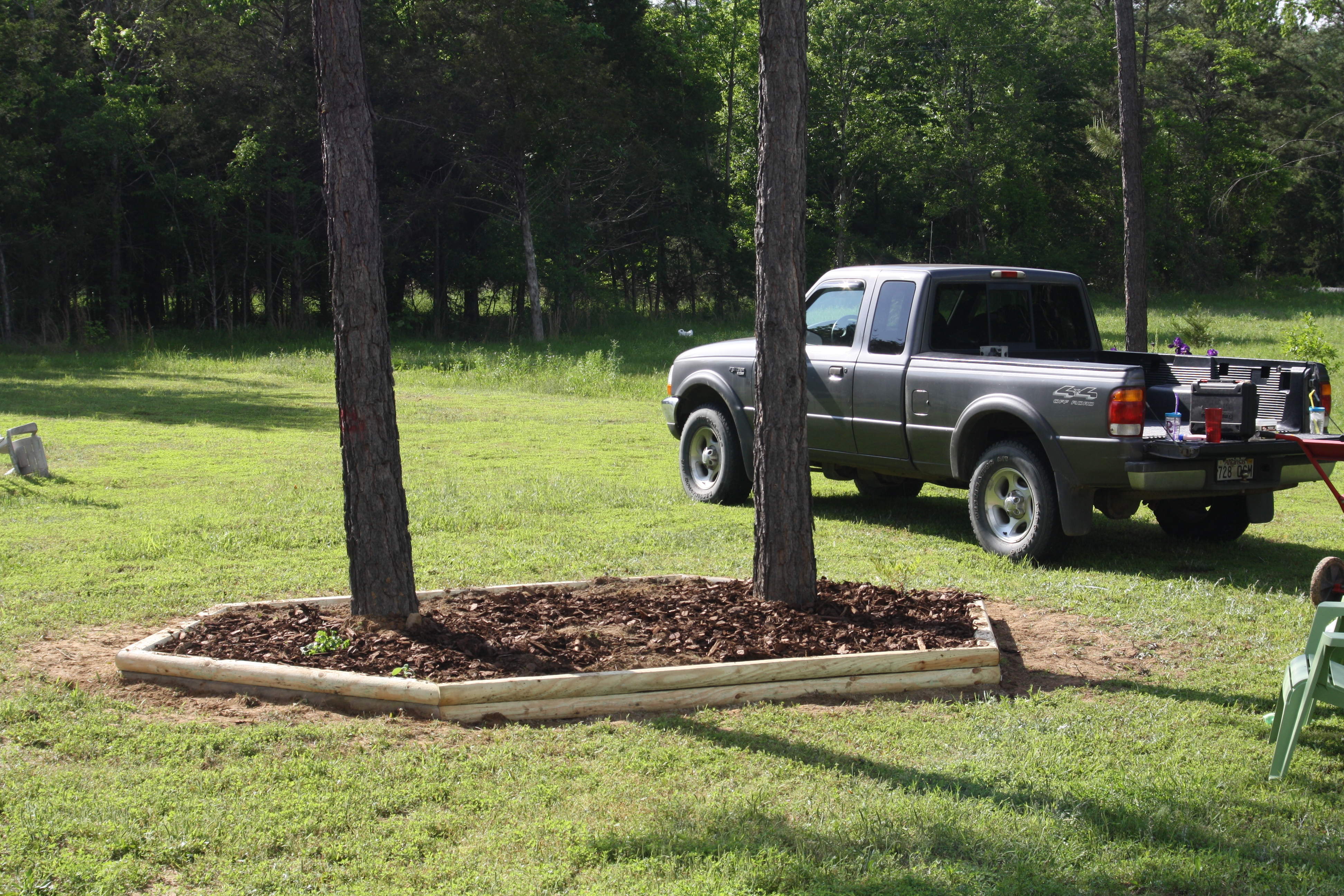 Building a Flower Bed
