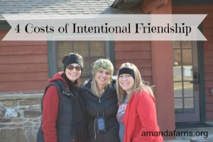 4 Costs of Friendship