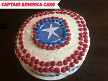 Captain America Birthday Cake and Birthday Traditions