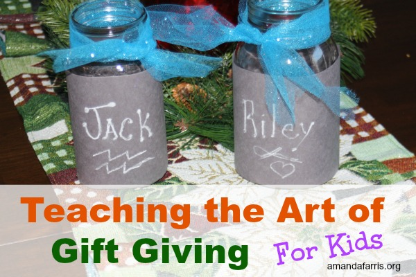 Teaching the Art of Gift Giving to Children