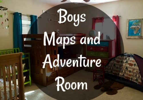 Boys Maps and Adventure Room
