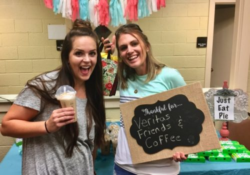 Coffee Bar in the Teachers Lounge