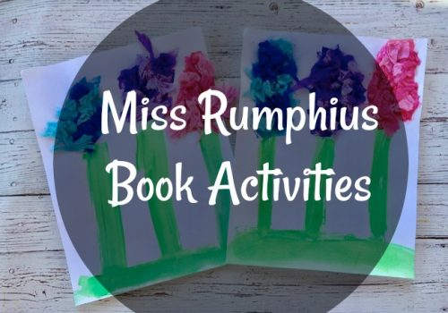 Miss Rumphius Book Activities