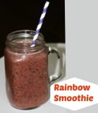 Healthy Smoothie for Kids- Rainbow Smoothie