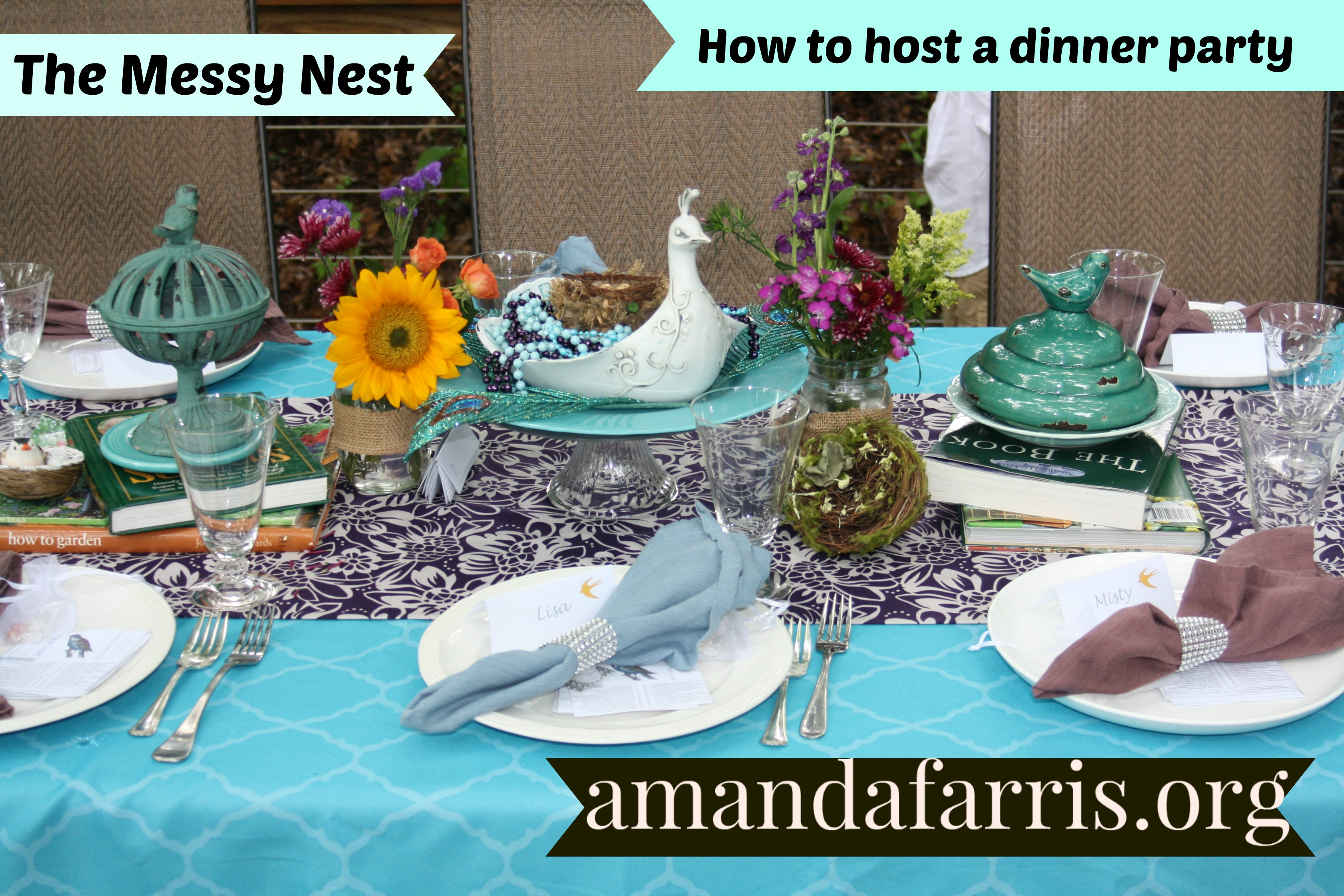 Messy Nest Dinner Party