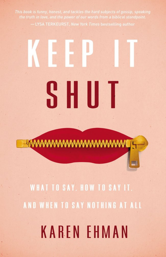 Keep It Shut – and a Giveaway
