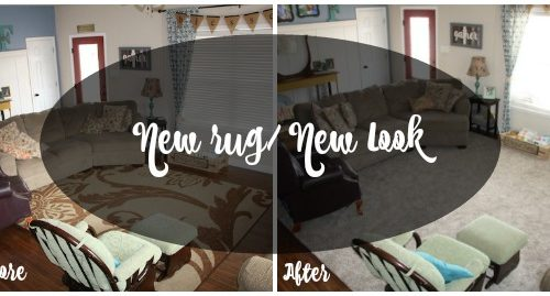 New Rug- New Living Room Look