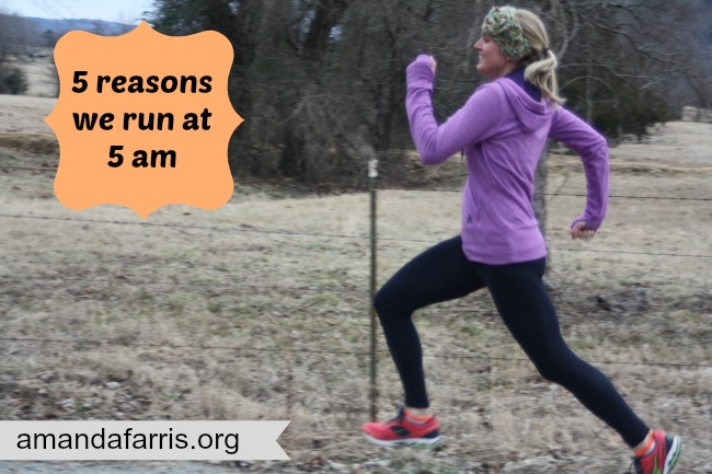 5 reasons we run at 5am
